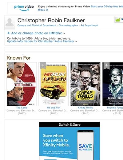 Christopher Faulkner
